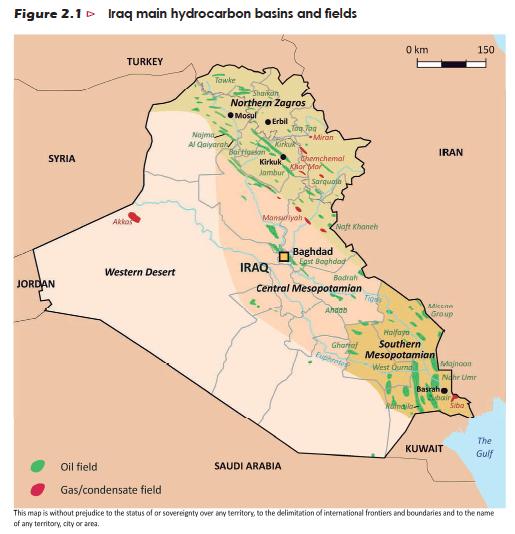 Karte-Irak