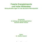 Heizkosten und fossile Energieimporte Studie