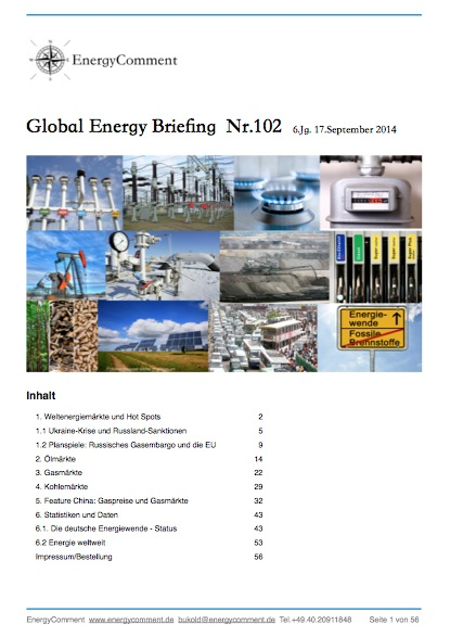 Global Energy Briefing Nr102