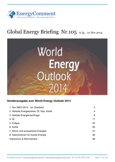 World Energy Outlook 2014