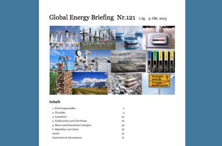 Global Energy Briefing Nr.121